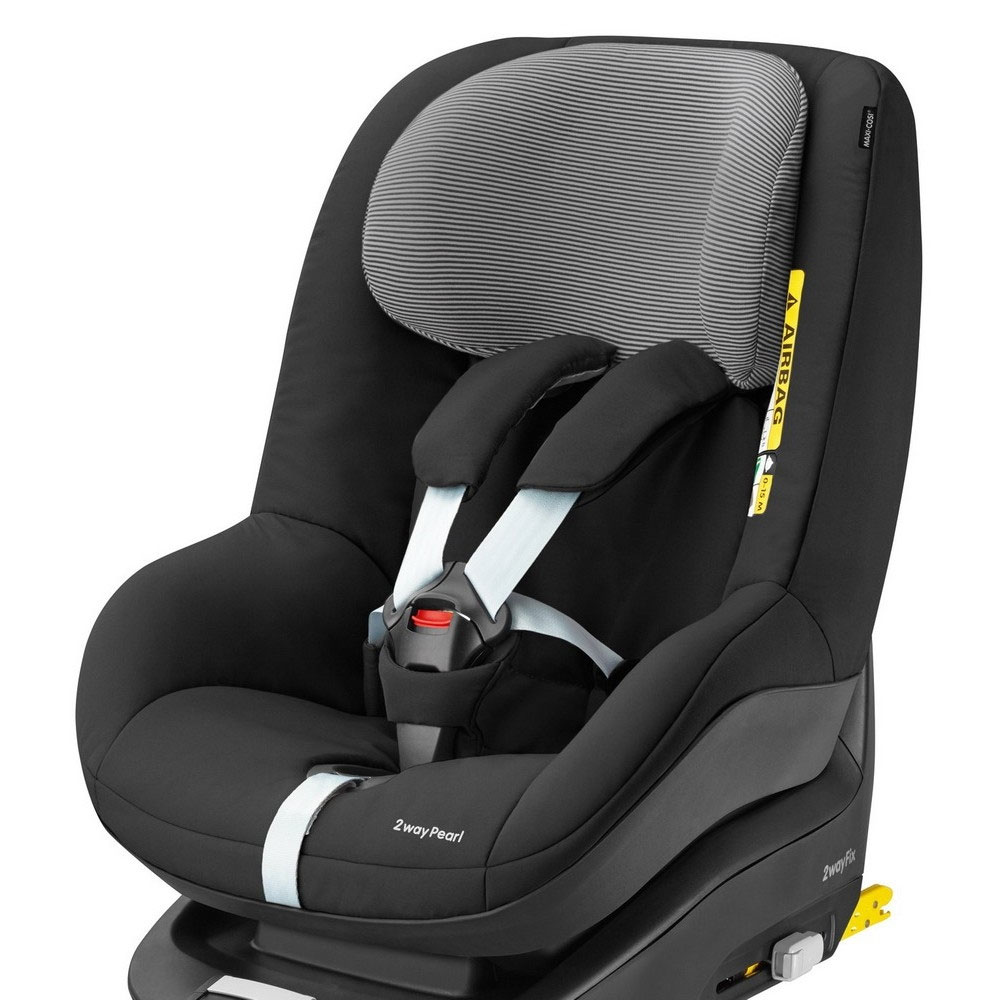 maxi cosi 2way pearl gp1 child car seat in black raven a graded 2015 rrp 200 ebay. Black Bedroom Furniture Sets. Home Design Ideas