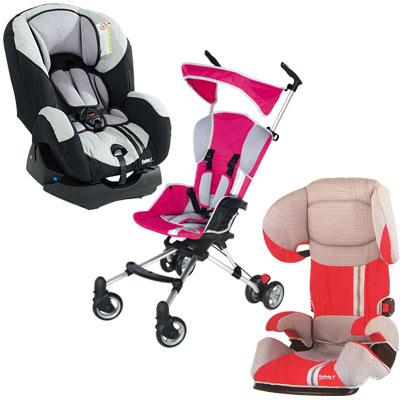 Baby Gold, Vit Stroller & Evolu Car Seat
