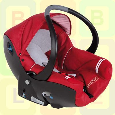 recon maxi cosi creatisfix infant car seat oxygen red ebay. Black Bedroom Furniture Sets. Home Design Ideas