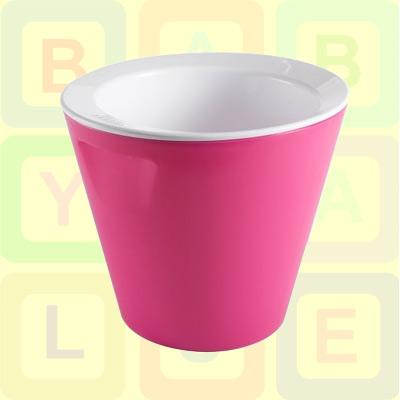 new hoppop bano baby bath tub double skinned in fuchsia pink rrp 40 ebay. Black Bedroom Furniture Sets. Home Design Ideas