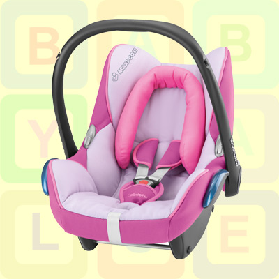 new maxi cosi cabrio fix car seat gp0 in marble pink rrp 125 ebay. Black Bedroom Furniture Sets. Home Design Ideas