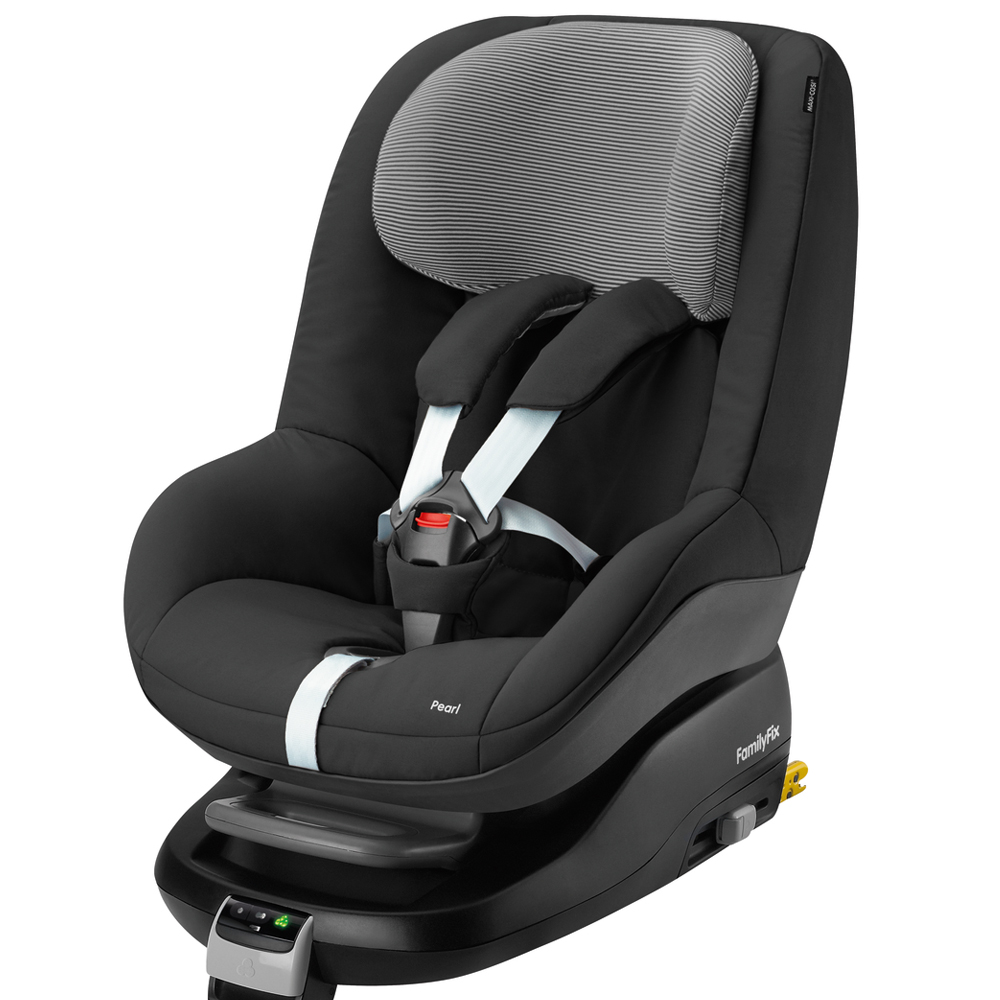 maxi cosi pearl group 1 child car seat in black raven b graded 2016 rrp 180 ebay. Black Bedroom Furniture Sets. Home Design Ideas