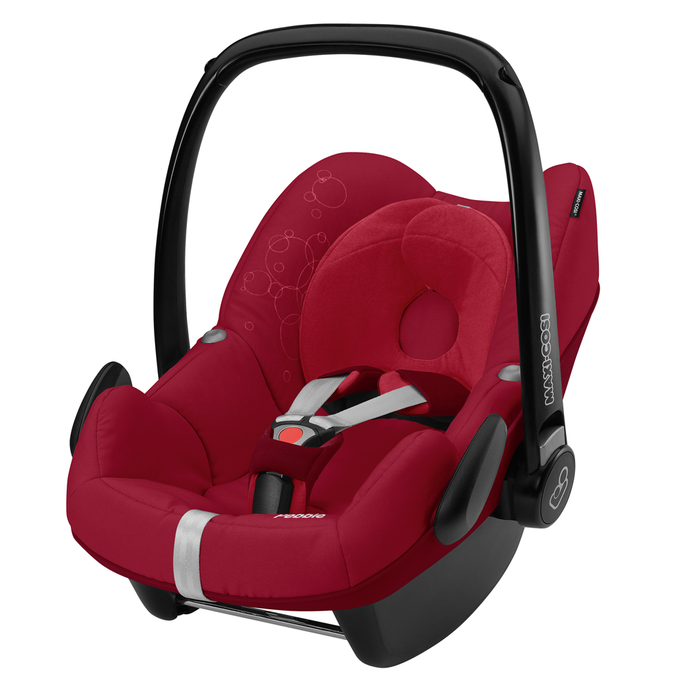 brand new maxi cosi pebble baby car seat grp0 in raspberry red 2014 rrp 165 ebay. Black Bedroom Furniture Sets. Home Design Ideas